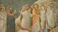 March 25, 2012 The Raising of Lazarus