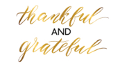 Thanksgiving 2019 - Gratitude!